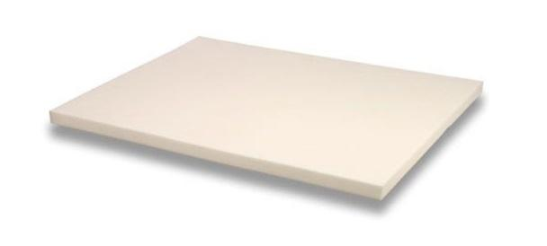 Memory Foam Solutions 3 Inch Thick Memory Foam Mattress Pad Bed Topper