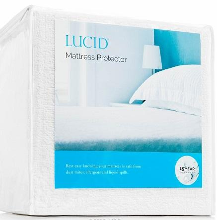 Lucid waterproof mattress protector