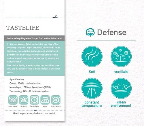 TasteLifePad waterproof mattress protector