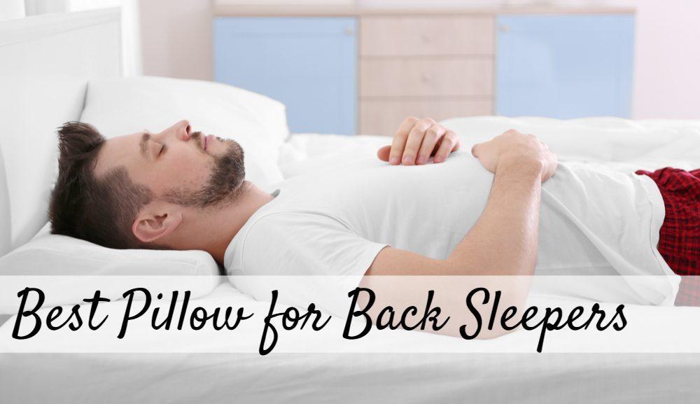 Best Pillow.Best Pillow For Back Sleepers 2020 Sleepingculture Com