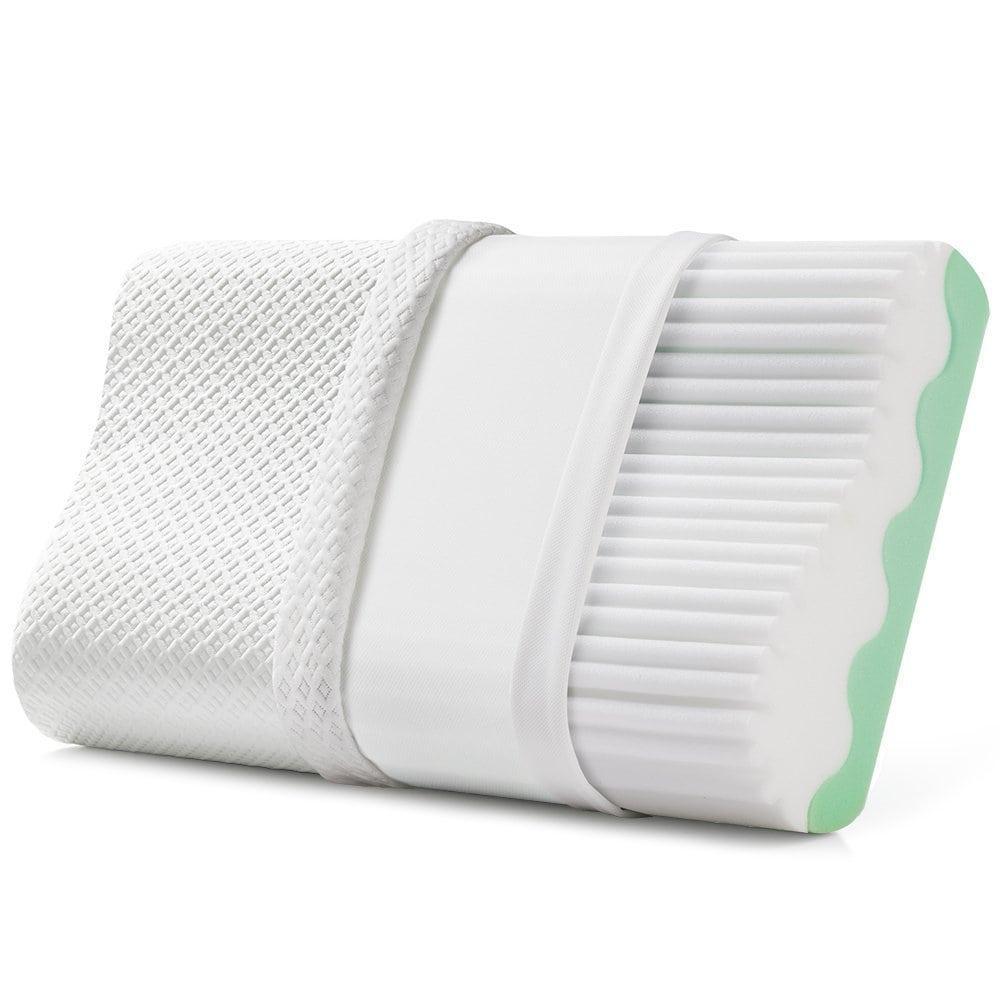 Jiaao Memory Foam Contoured Pillow