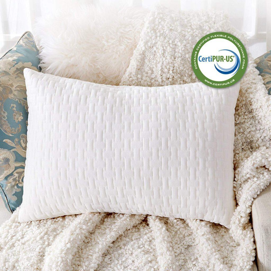 SableShredded Foam Pillow CertiPUR