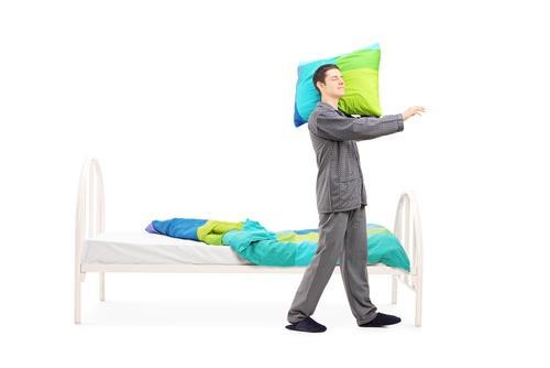 Symptoms of Sleepwalking