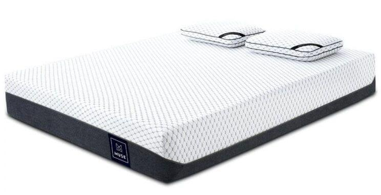 Muse Memory Foam Gel-Infused Mattress