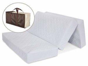 LA Baby Multi-Use Waterproof Folding Portable Crib Mattress