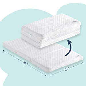 hiccapop Tri-fold Pack 'n Play Mattress Pad
